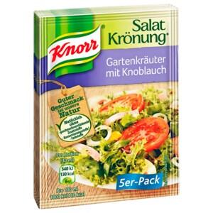 Knorr Salatkrönung Gartenkräuter mit Knoblauch 5x9g