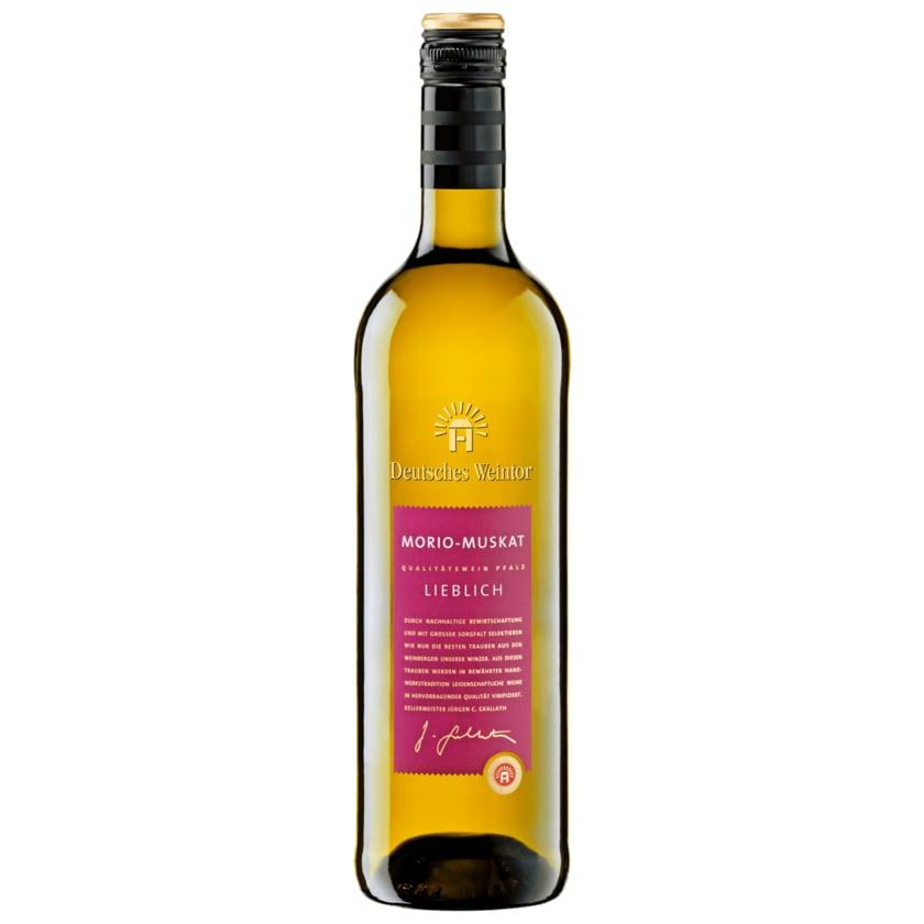 Deutsches Weintor Weißwein Morio-Muskat lieblich 0,75l