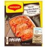 Maggi Fix für Paprika-Rahm Schnitzel 35g