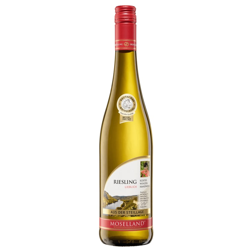 Moselland Weißwein Riesling Hochgewächs lieblich 0,75l