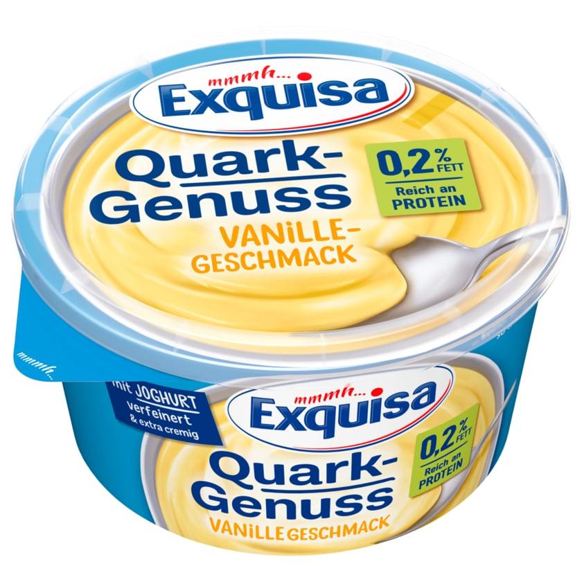 Exquisa QuarkGenuss Vanilla 0,2% 500g