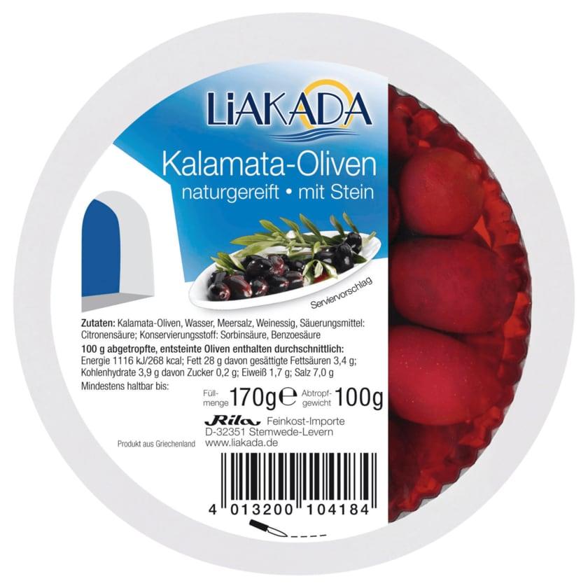 Liakada Kalamata-Oliven 100g
