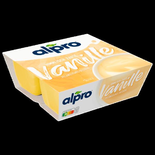 Alpro Soja-Dessert Feine Vanille 4x125g