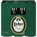 Licher Pilsner 11x0,5l