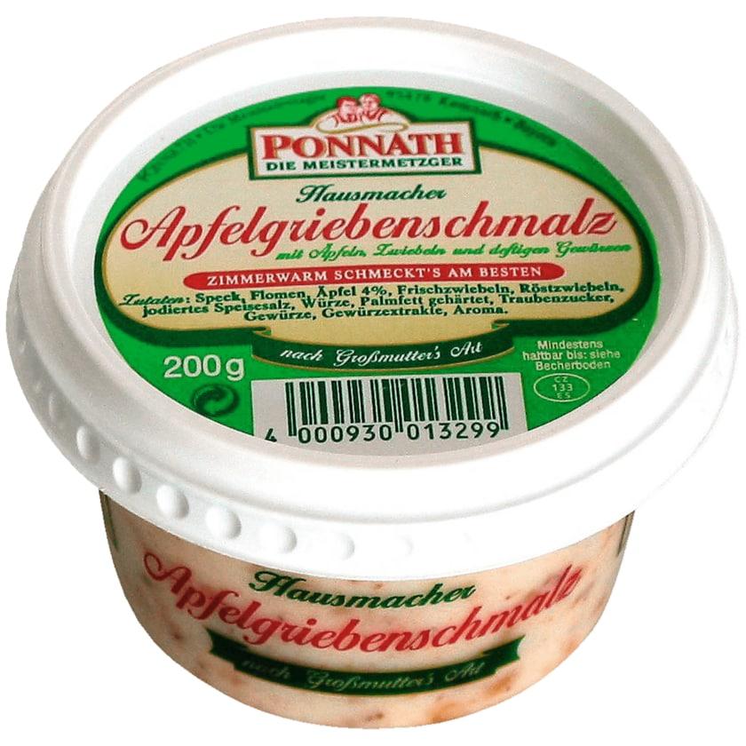 Ponnath Apfelgriebenschmalz 200g