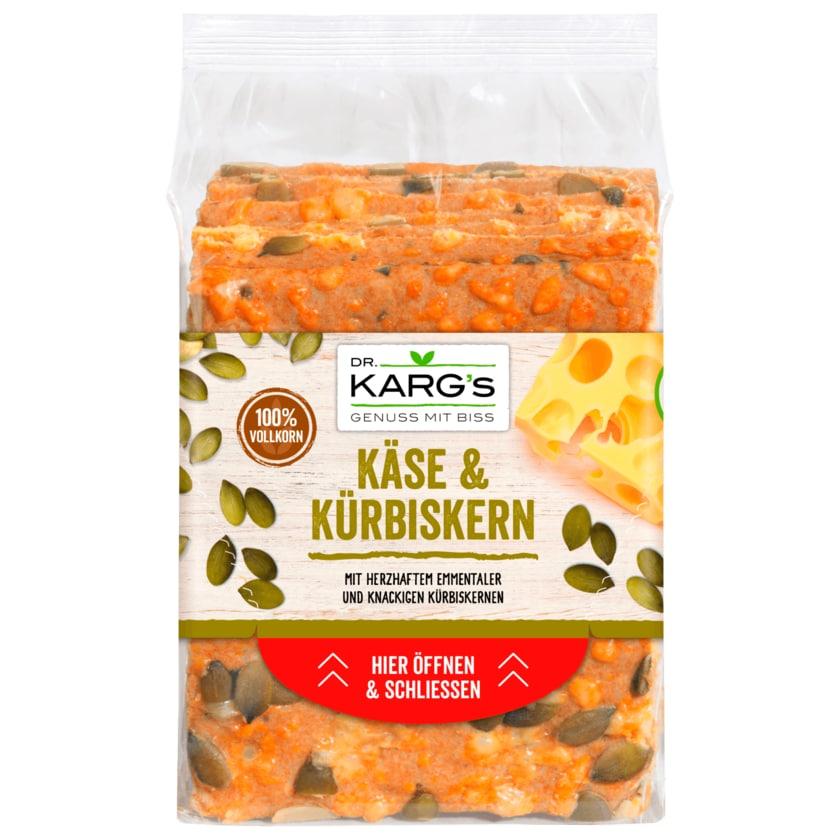 Dr. Karg's Genießer-Knäckebrot Käse & Kürbiskern 200g