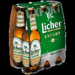 Licher Export 6x0,33l
