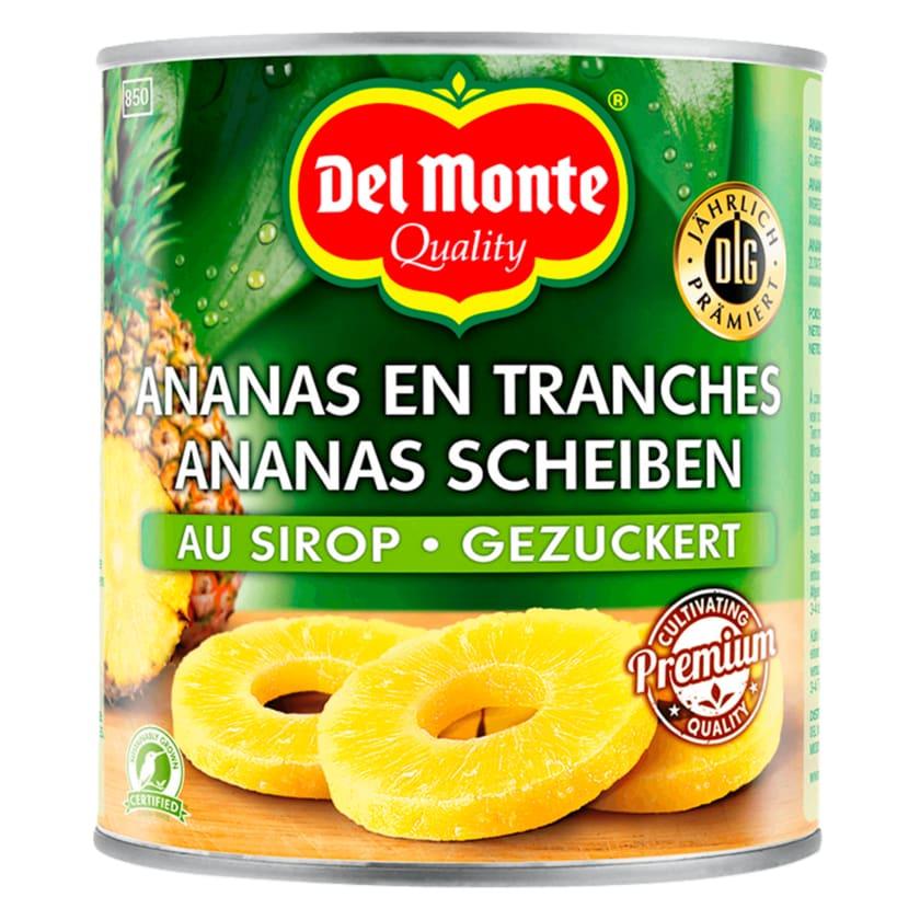 Del Monte Ananas Scheiben gezuckert 840g