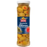 Ibero Grüne Oliven mit Paprika 85g