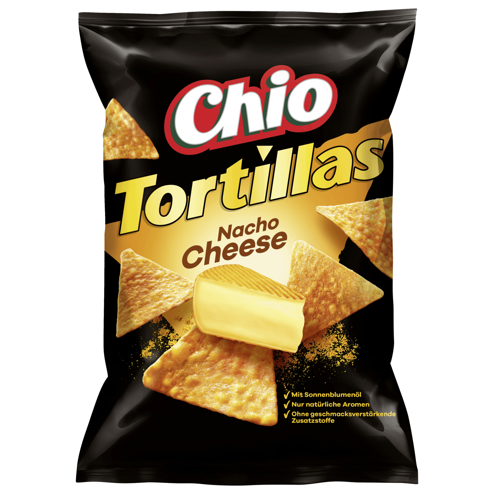 Chio Tortillas Nacho Cheese 125g