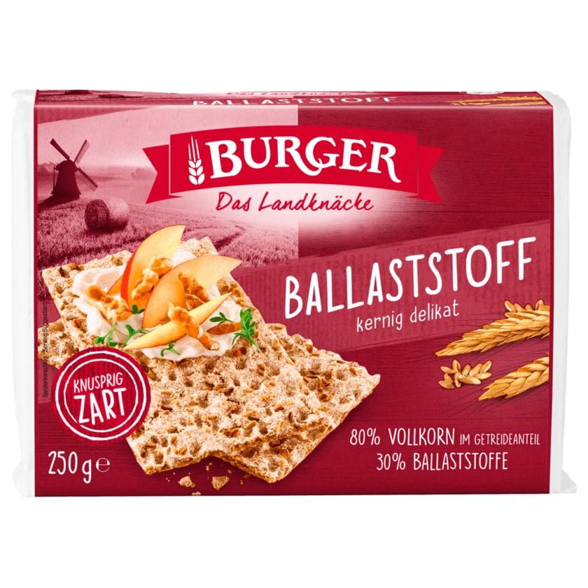 Burger Ballaststoff Knäckebrot 250g
