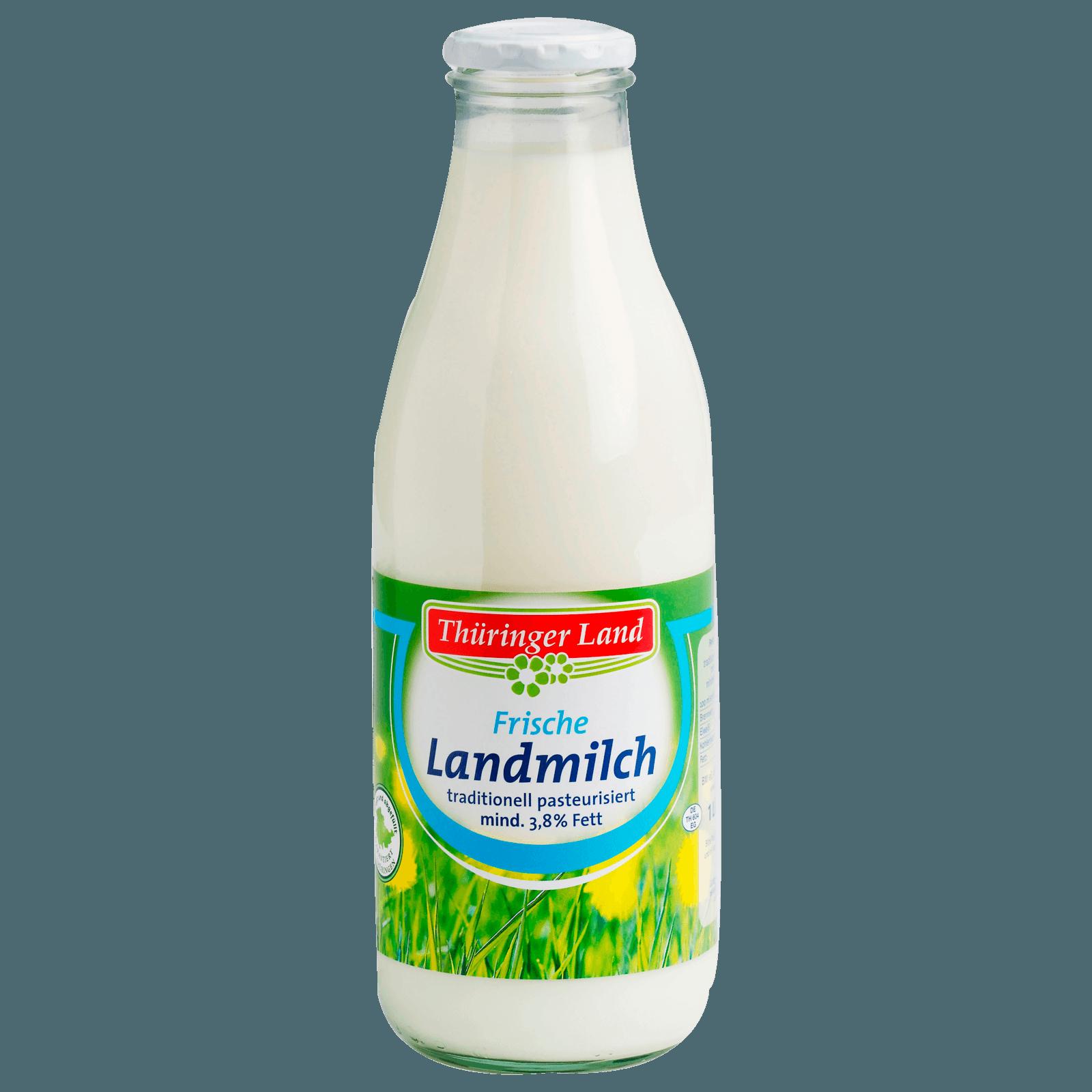 Thüringer Land Trinkmilch 3,8% 1l