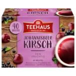 Teehaus Johannisbeer Kirsch 90g, 40 Beutel