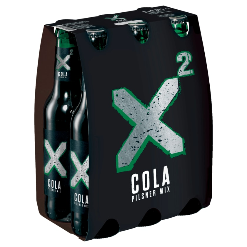 Licher x² Cola-Pilsner-Mix 6x0,33l