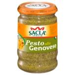 Saclà Pesto alla Genovese Italienische Sauce aus Basilikum 190g
