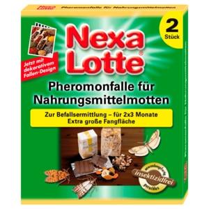 Nexa Lotte Pheromonfalle für Motten 2 Stück