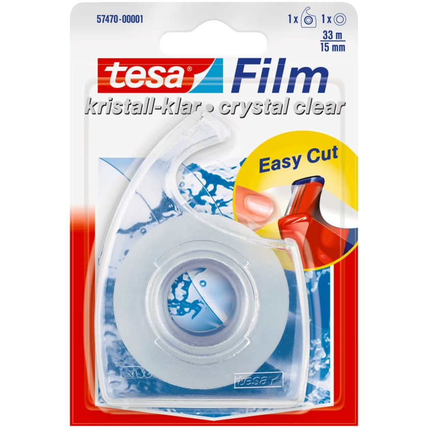 Tesa Handabroller mit Film 33mx15mm