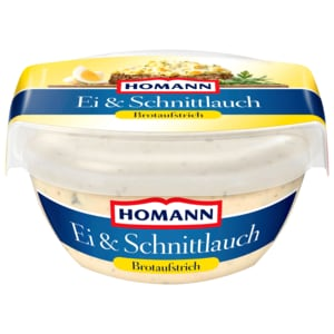 Homann Brotaufstrich Ei & Kräuter 150g