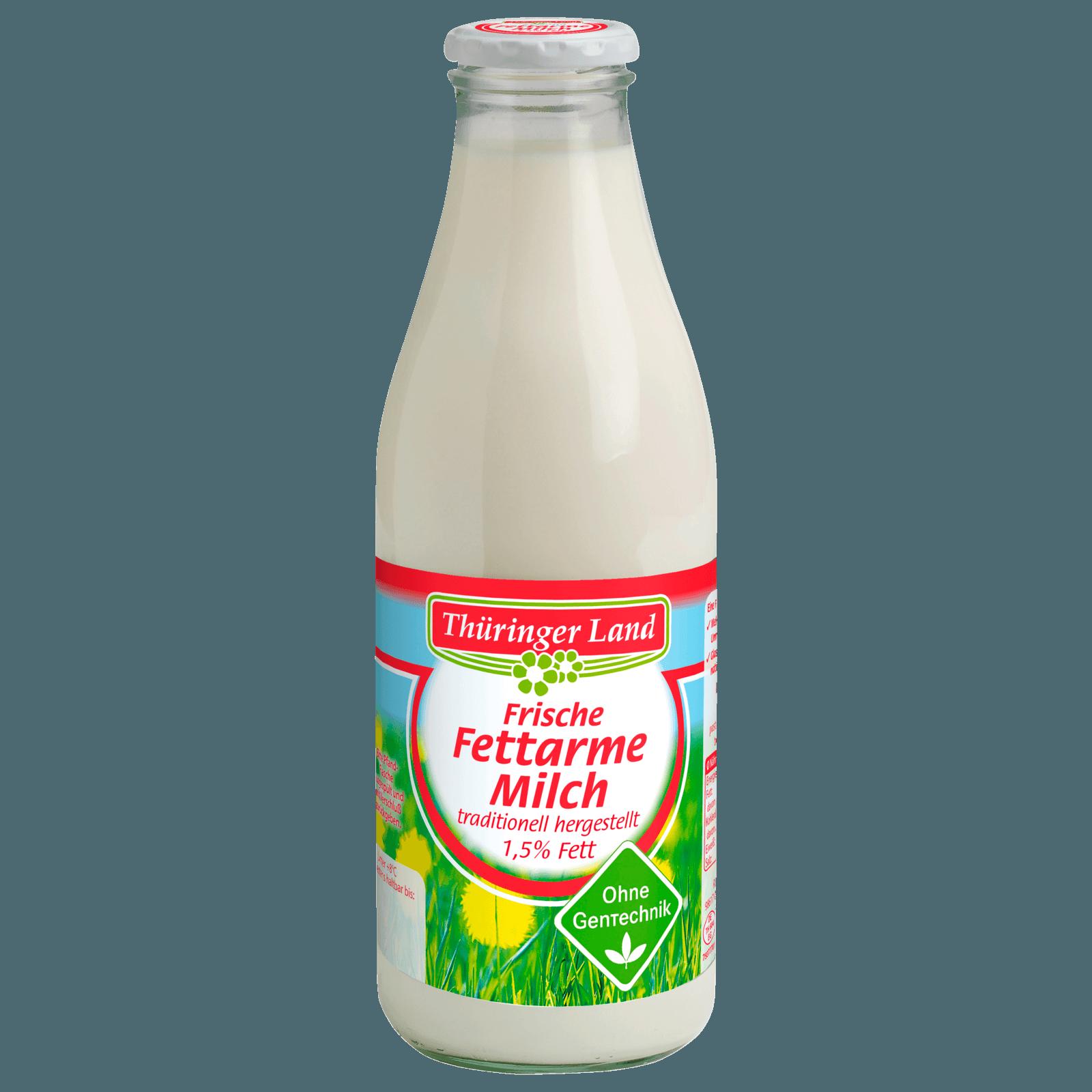 Thüringer Land Frische Fettarme Milch 1,5% 1l