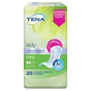 Tena Lady Mini Einlagen für leichte Blasenschwäche 20 Stück
