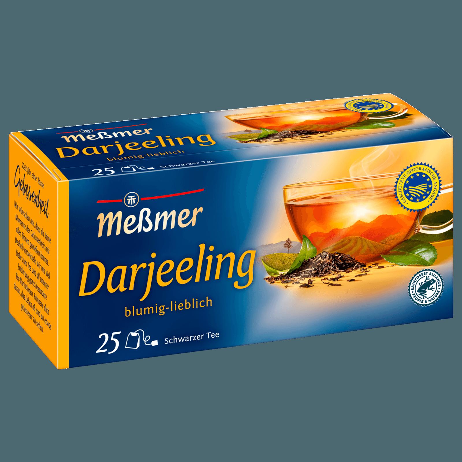 Meßmer Feinster Darjeeling 44g, 25 Beutel