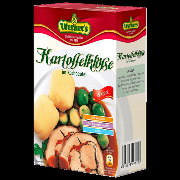 Werner's Kartoffelklöße im Kochbeutel 200g