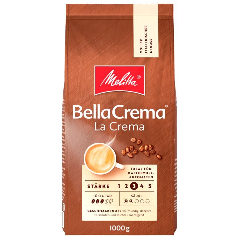 Melitta BellaCrema LaCrema Kaffeebohnen 1kg