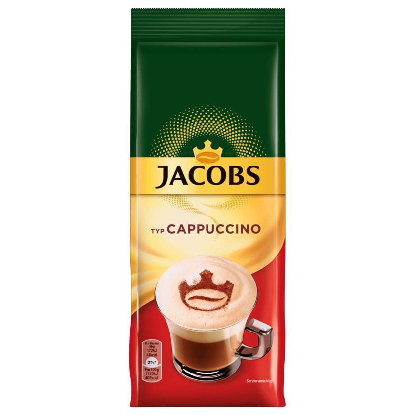 Jacobs Cappuccino Kaffeespezialitäten im Nachfüllbeutel 400g