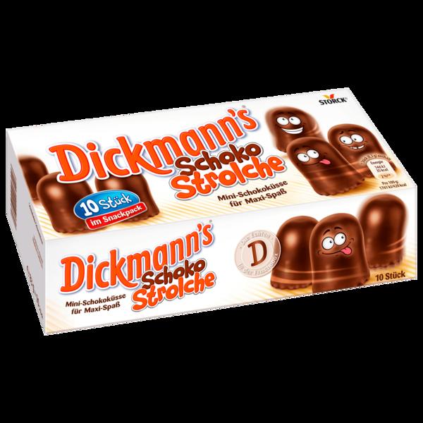 Dickmann's Schoko Strolche 83g, 10 Stück