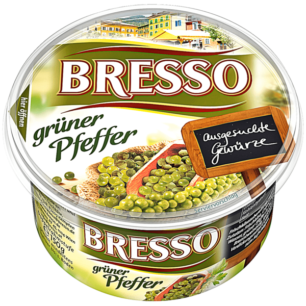 Bresso Frischkäse Pfeffer 150g