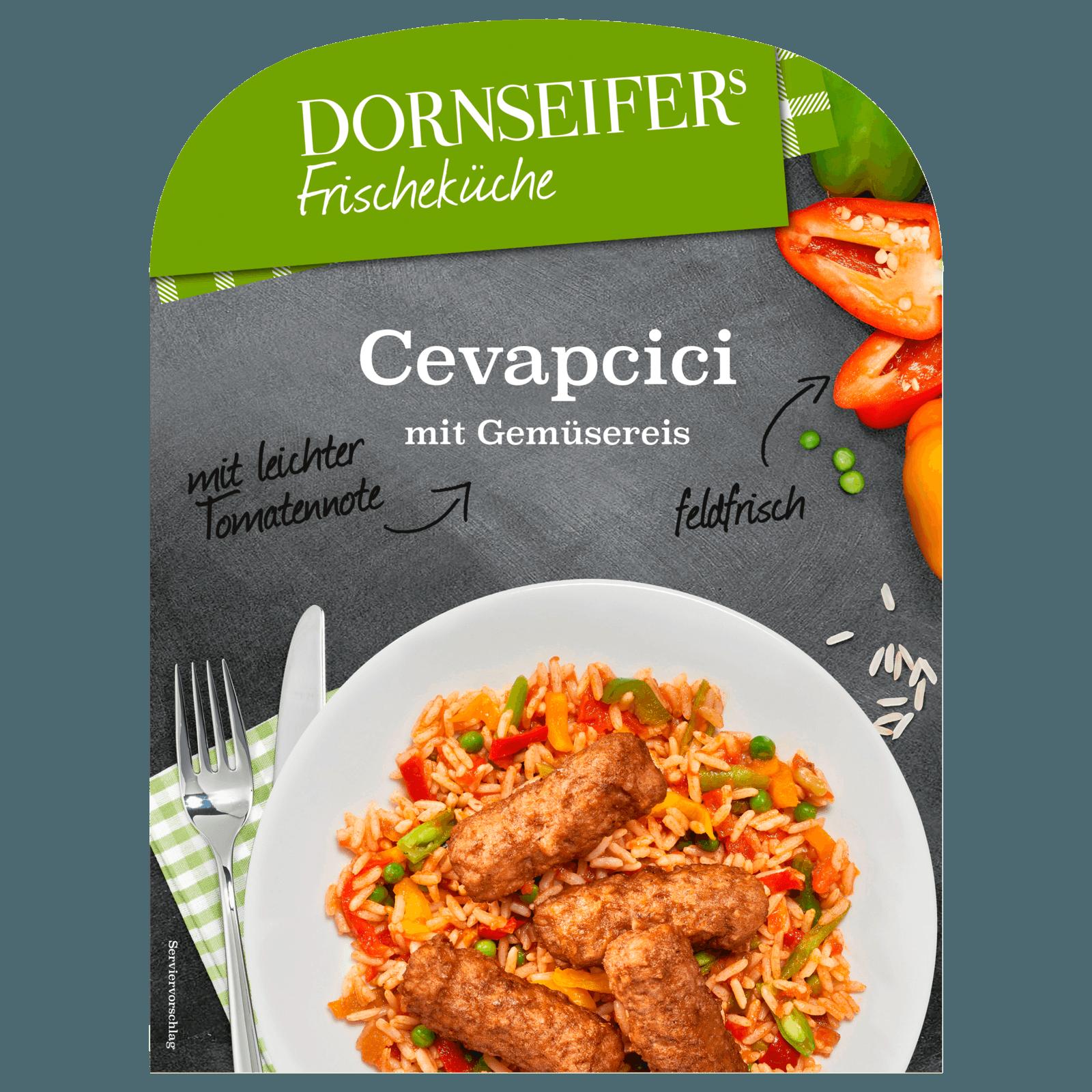 Dornseifer Cevapcici Mit Gemüsereis 380g Bei Rewe Online Bestellen