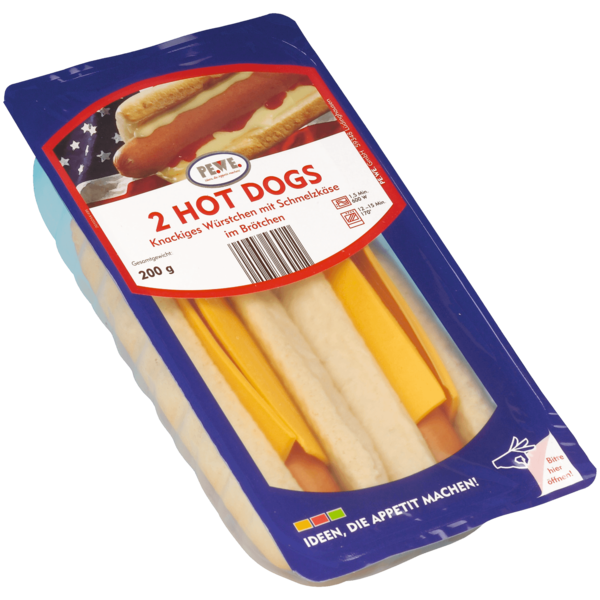 PE.WE. Hot Dogs 2x100g