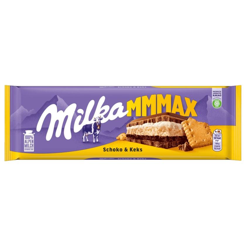Milka Schokolade Schoko & Keks 300g