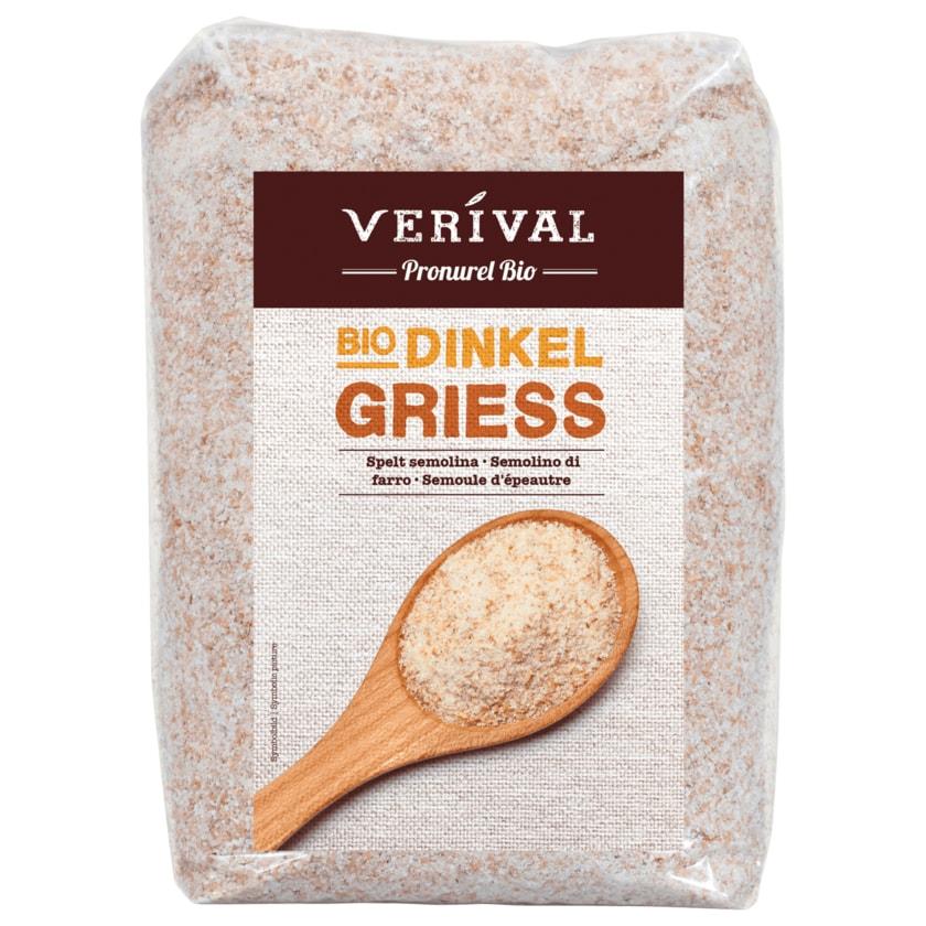 Verival Bio Dinkelgrieß 500g