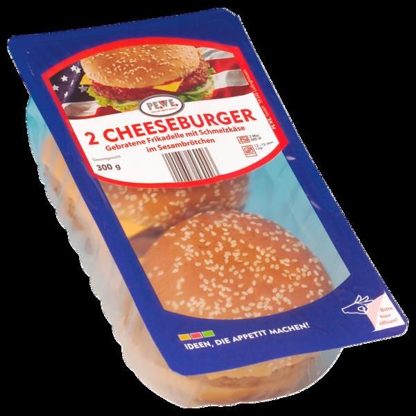 PE.WE. Cheeseburger 2x150g