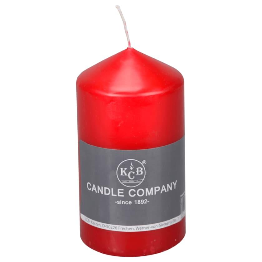 Stumpen Kerze Rot 6x11cm