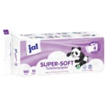 ja! Tissue-Toilettenpapier 4-lagig 10x160 Blatt