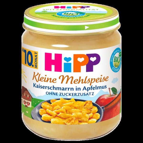 Hipp Kleine Mehlspeise Bio Kaiserschmarrn in Apfelmus 200g