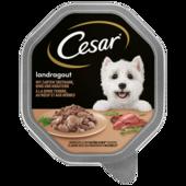 Cesar Hundefutter Landküche Mini Filets mit Pute & Rind in köstlicher Sauce 150g