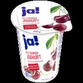 ja! Fettarmer Joghurt mild Kirsche 250g