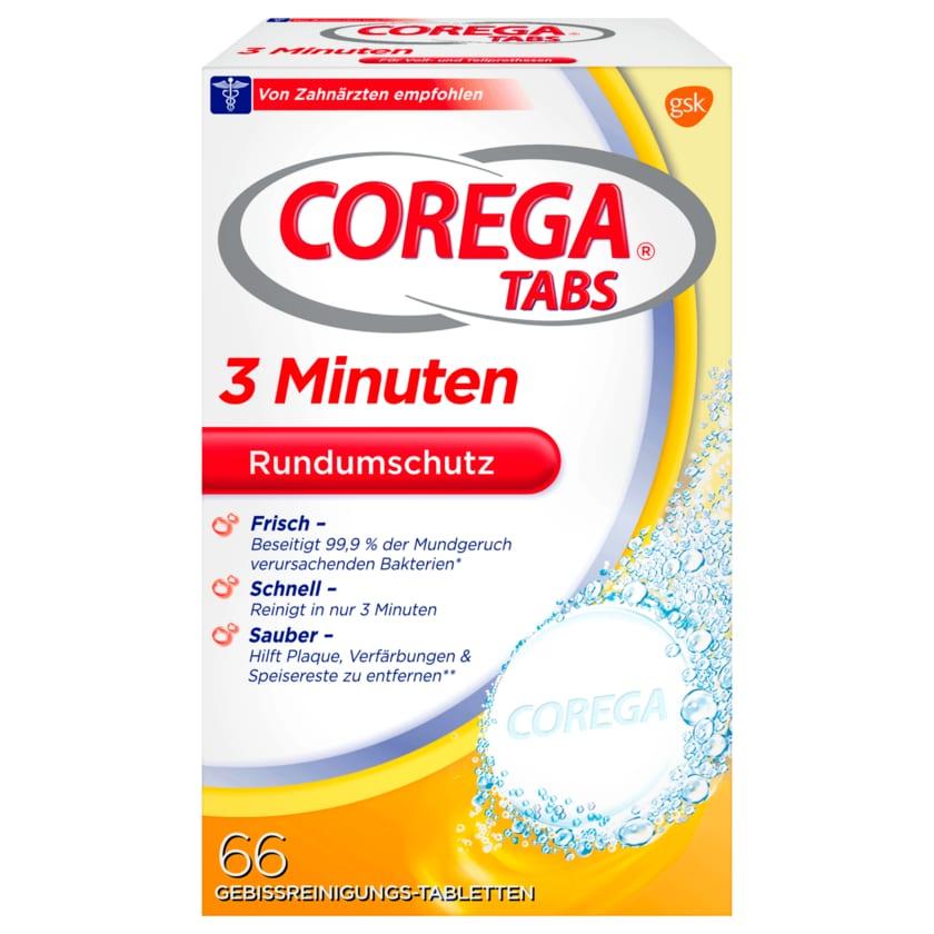 Corega Tabs 3 Minuten 66 Stück
