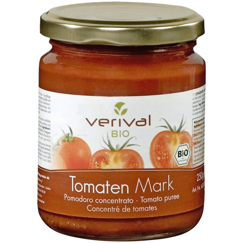 Verival Bio Tomaten Mark 250g
