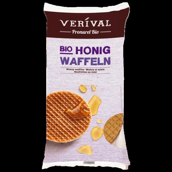 Verival Bio Honig Waffeln 175g