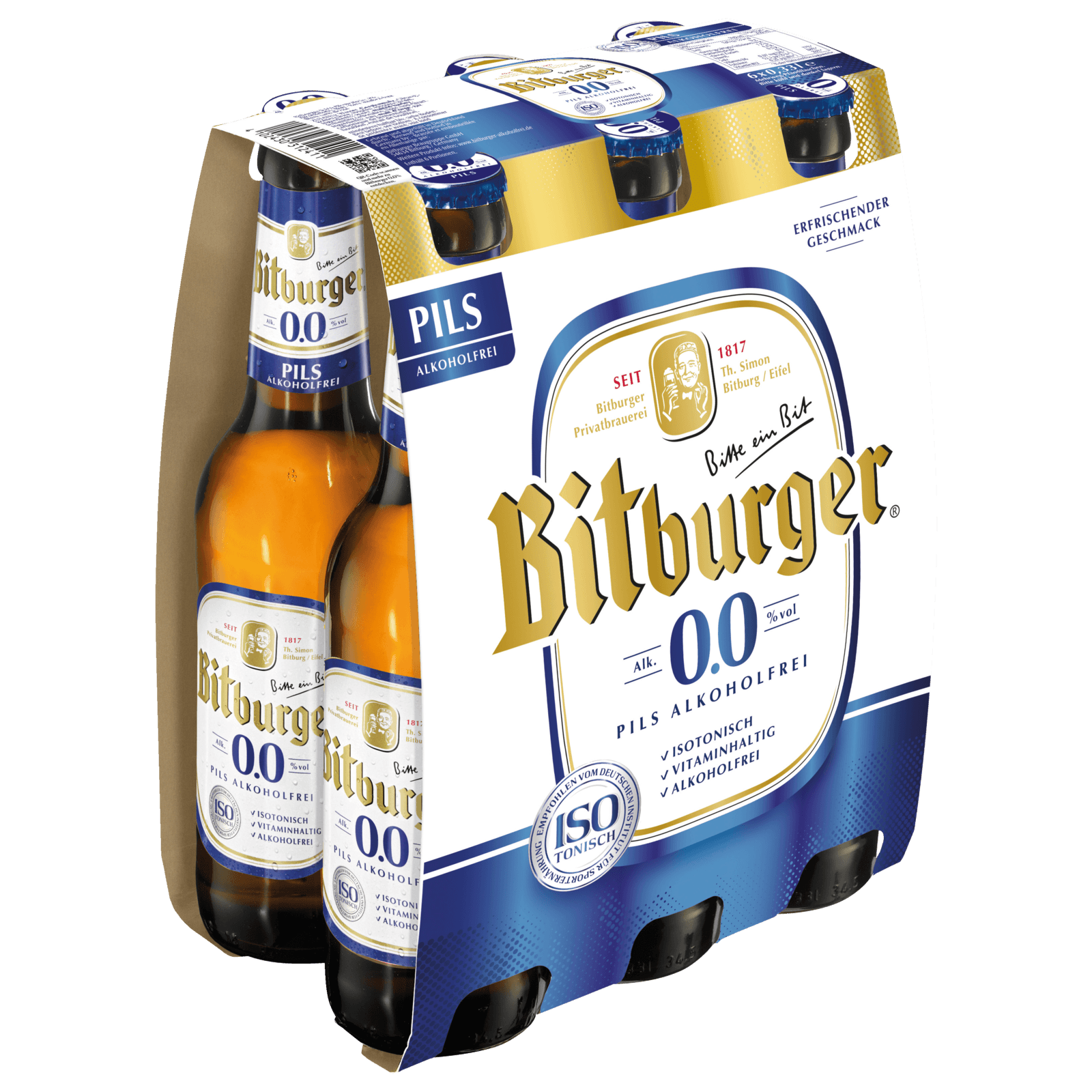 Bitburger 00 Alkoholfrei 6x033l