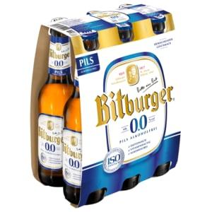 Bitburger 0,0% Alkoholfrei 6x0,33l