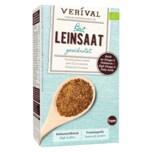 Verival Bio Leinsaat geschrotet 250g