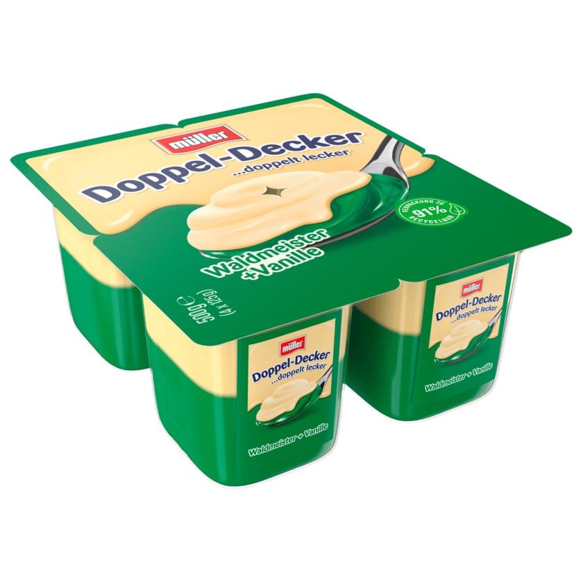 Müller Doppeldecker Waldmeister & Vanilla 4x125g