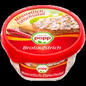 Popp Brotaufstrich Fleischsalat mit Meerrettich 150g