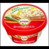 Popp Aufstrich Käse und Champions 150g
