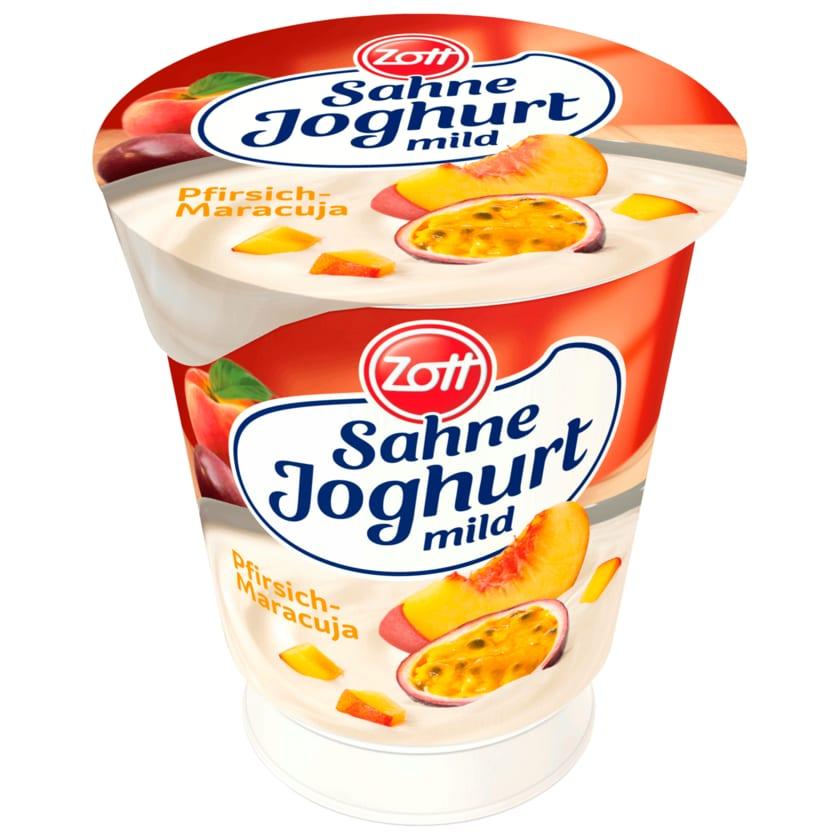 Zott Sahnejoghurt Pfirsich-Maracuja 150g